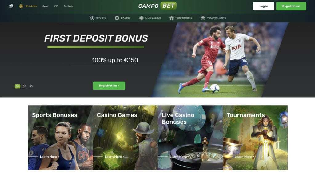 Campo Bet Screenshot